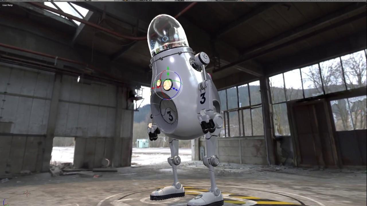 Eevee robot test