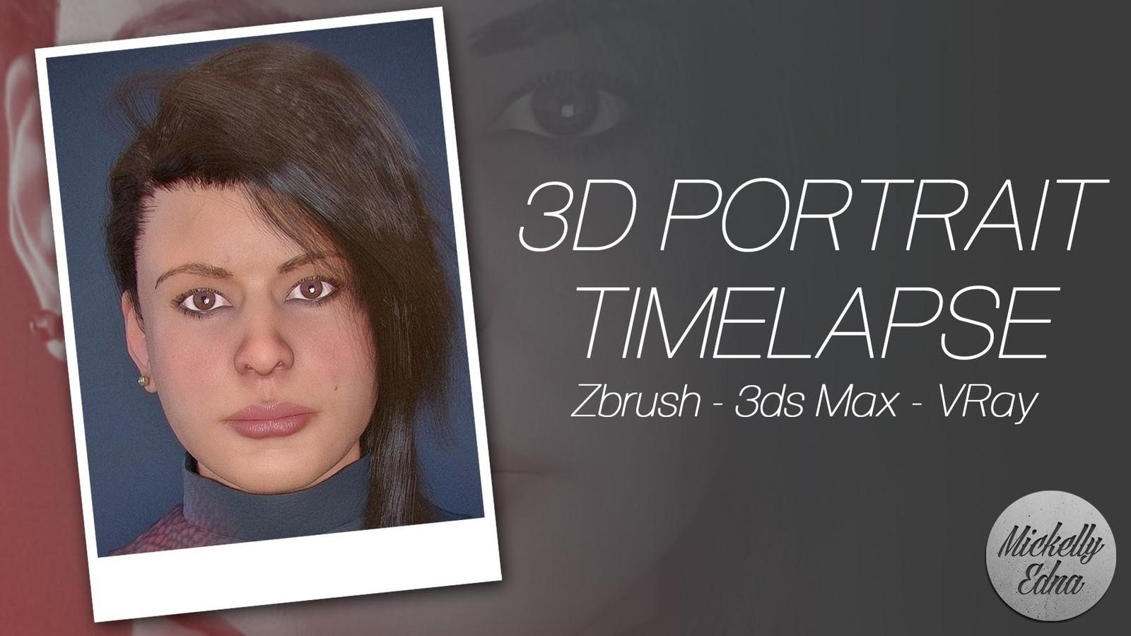 Jena 3D Portrait