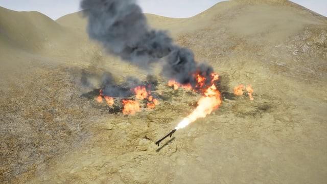 Flamethrower (UE4)