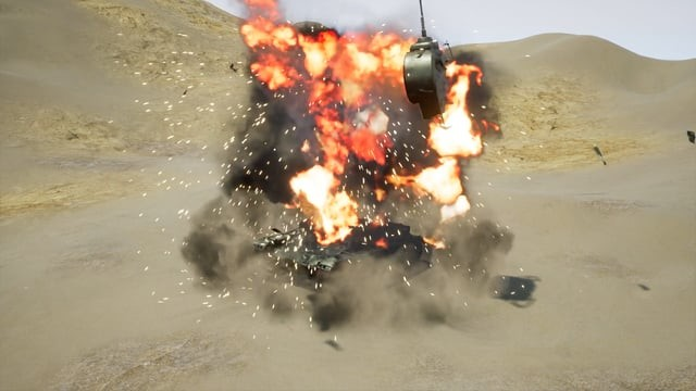Tank Explosion (Ue4)