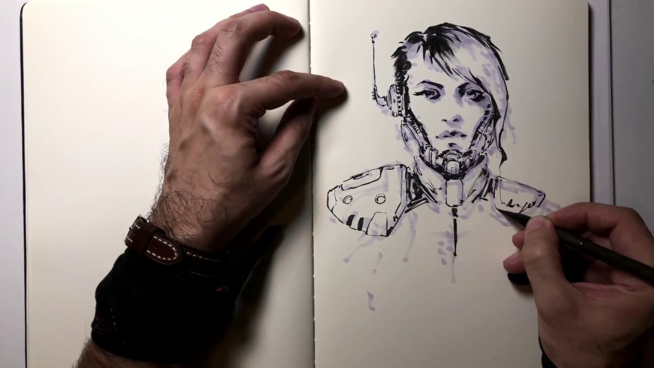 INKTOBER 2017 Process Vids vol.1