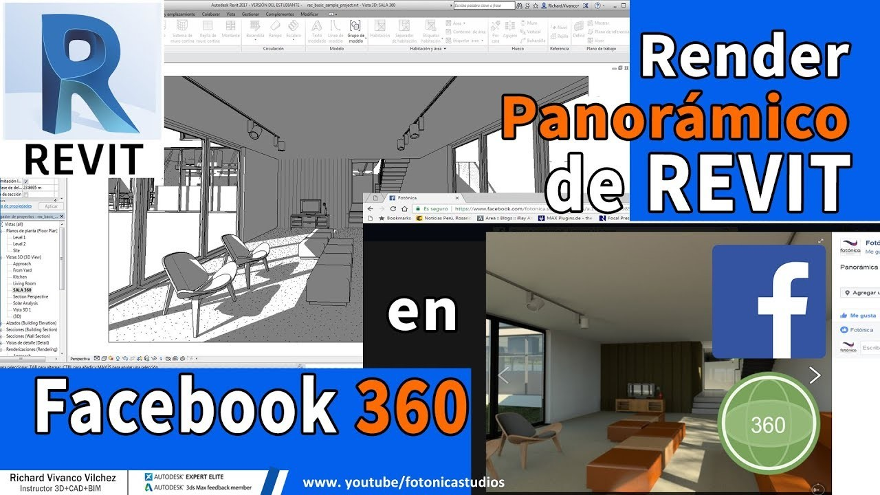 ArtStation - Video tutorial: Revit panorama render into