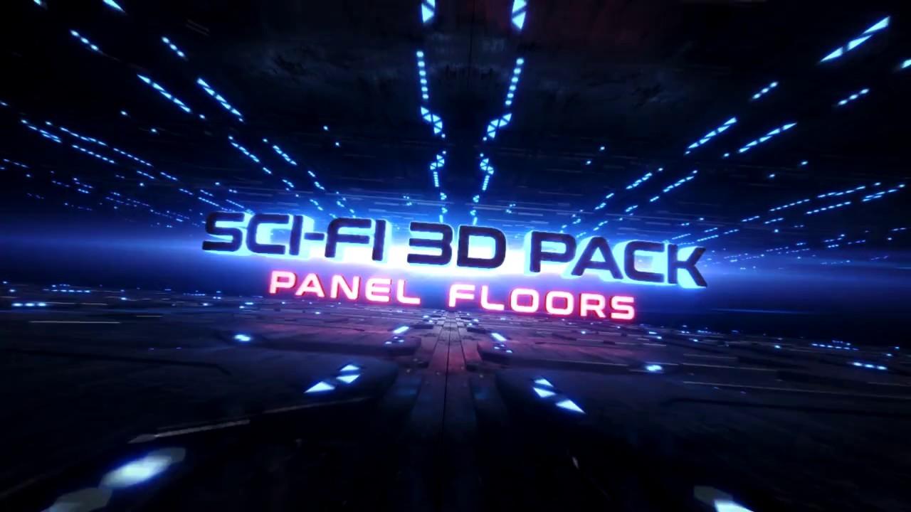 SciFi Pack - Panel Floors