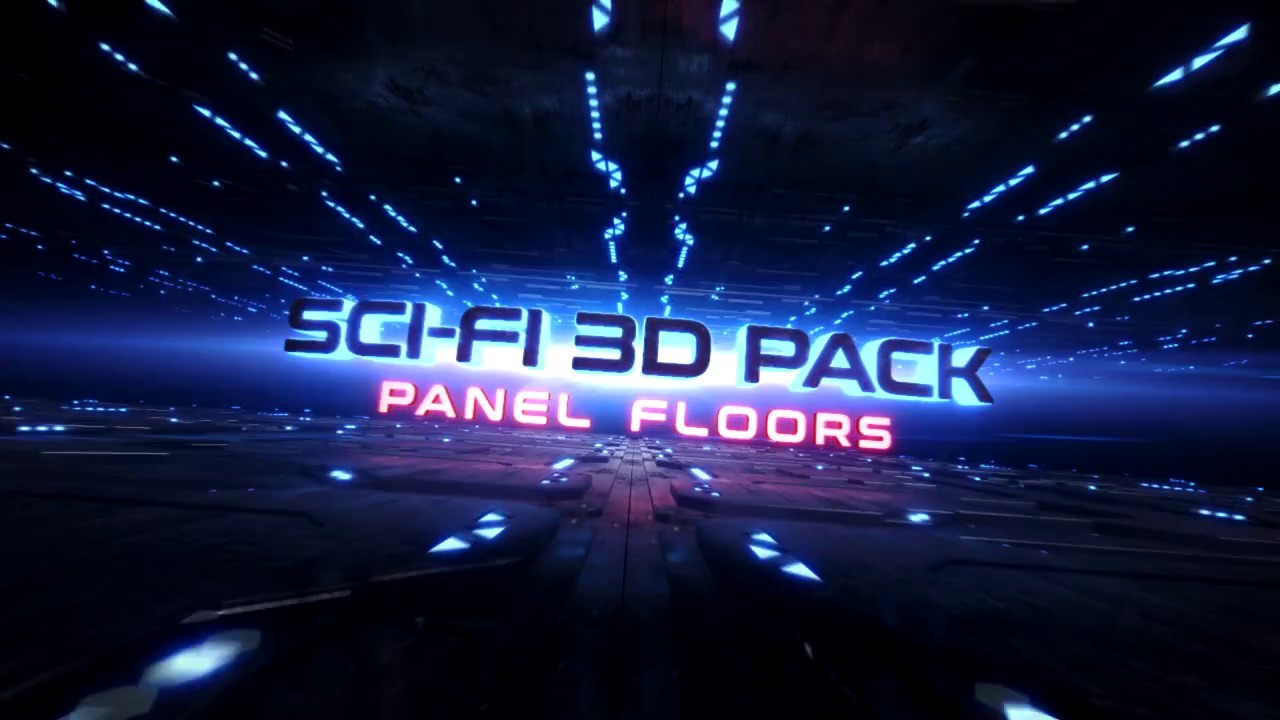 SciFi Pack - Panel Floors