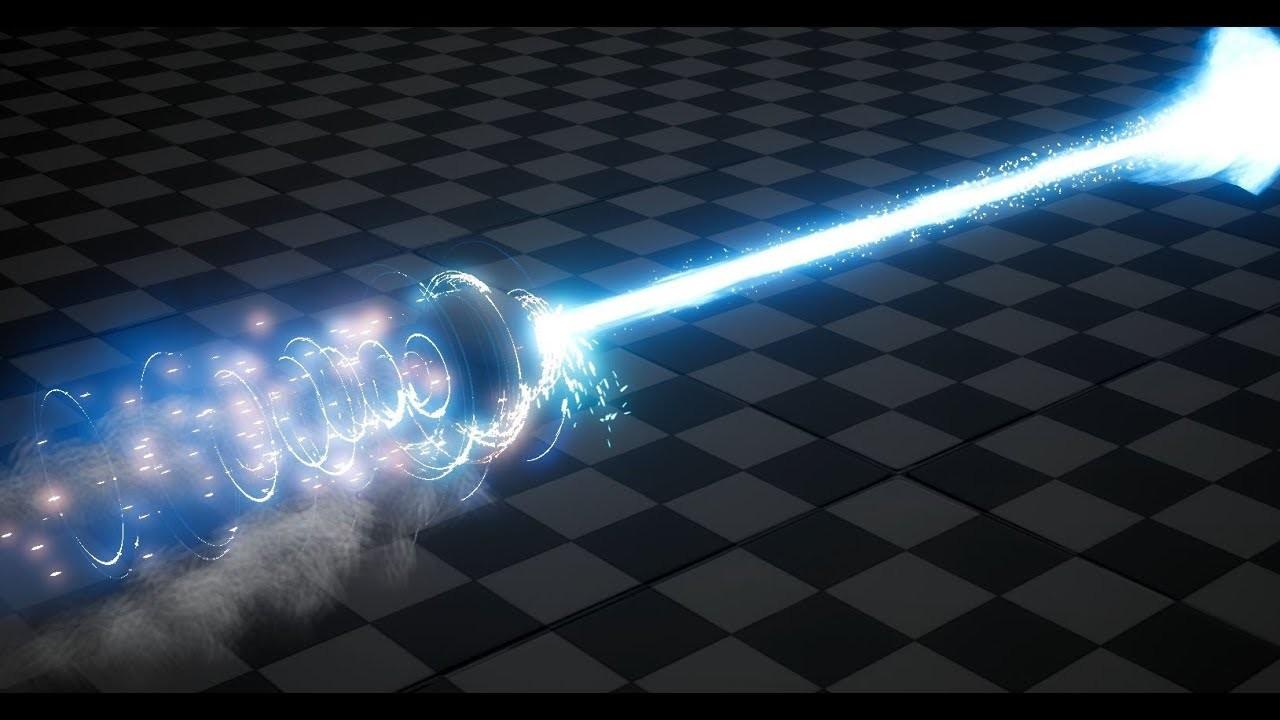 ArtStation - Riot Creative Contest 2017 - Channeled Laser Beam WIP 1