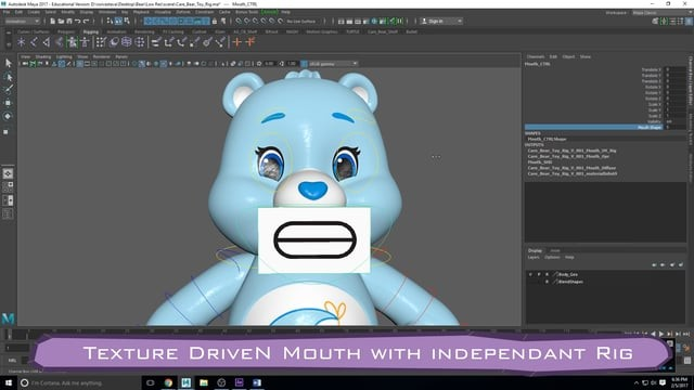 Care Bear Toy Rig
