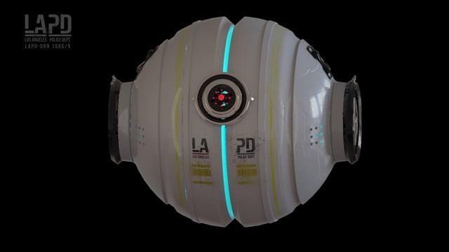ANTI GRAVITY - LAPD // DRONE CONCEPT