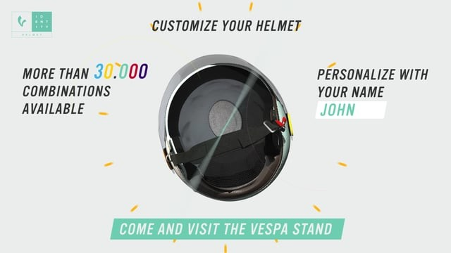 Vespa Customizable Helmet