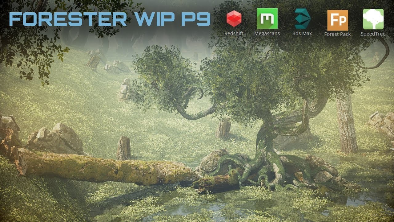 ArtStation - The Forester worlds, Andrew Krivulya