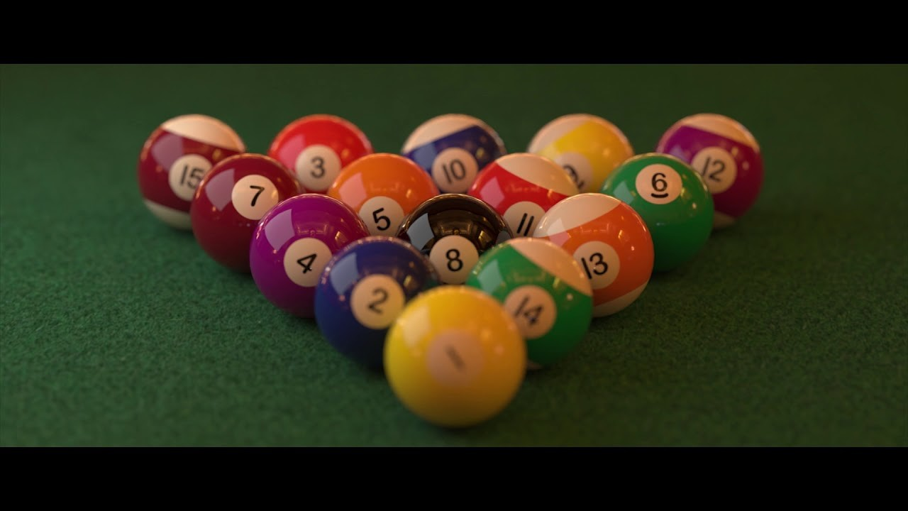 Best realistic render in Cinema 4D - Pool Table Scene