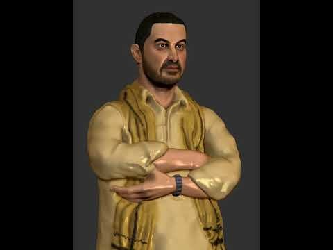 Artstation Aamir Khan Dangal 摔跤吧爸爸 Srinivassan Pondicherry