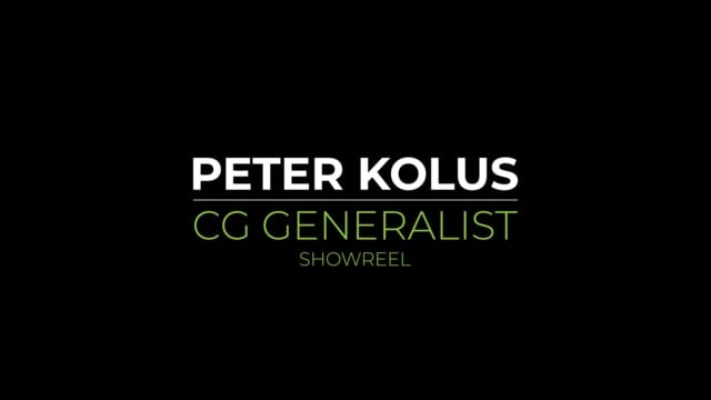 Peter Kolus showreel