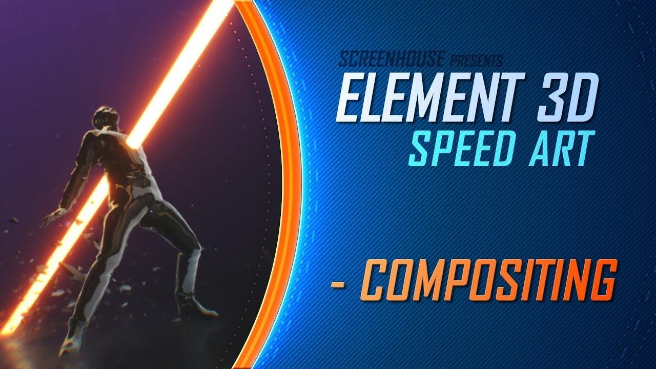 ELEMENT 3D - Speed Art