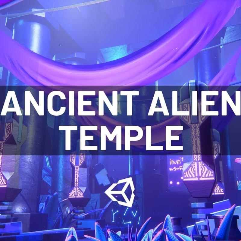 Ancient Alien Temple - Unity Environment
