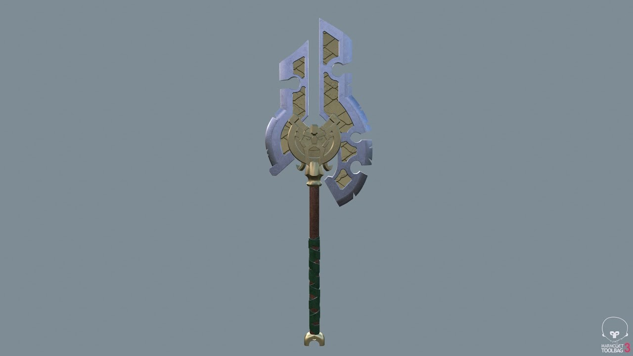 Darksiders II War Ax
