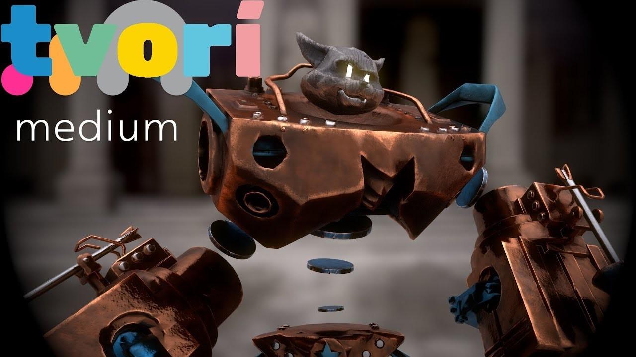 Medium - 3D Coat - Tvori - Marmoset (VR workflow)