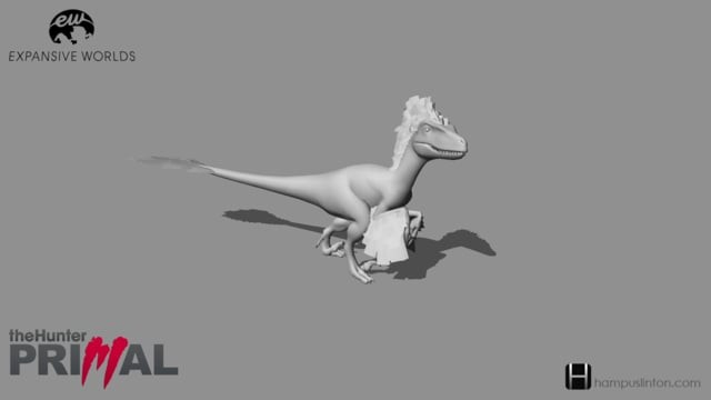 Utharaptor from theHunter: Primal (2015)