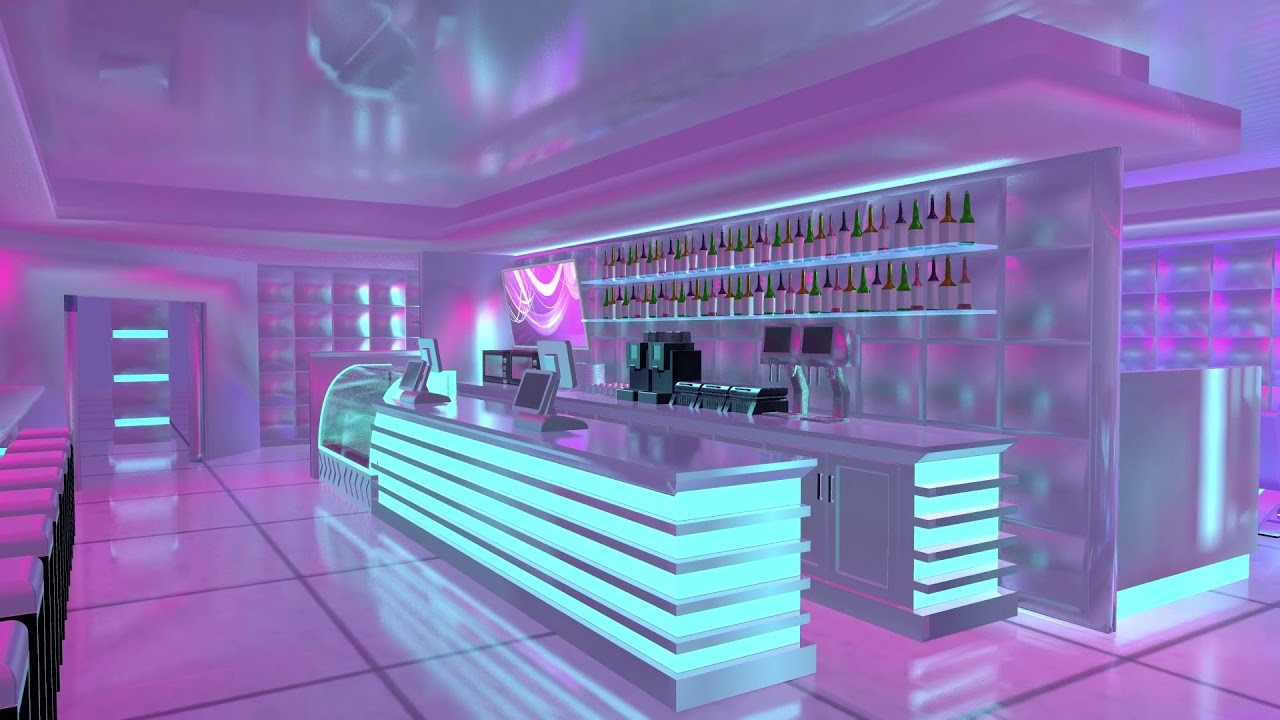 Cyber Cafe Concept