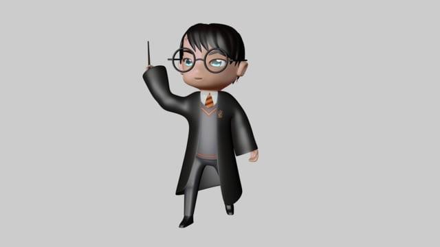 ArtStation - Harry Potter Animation 9bf3a387b60