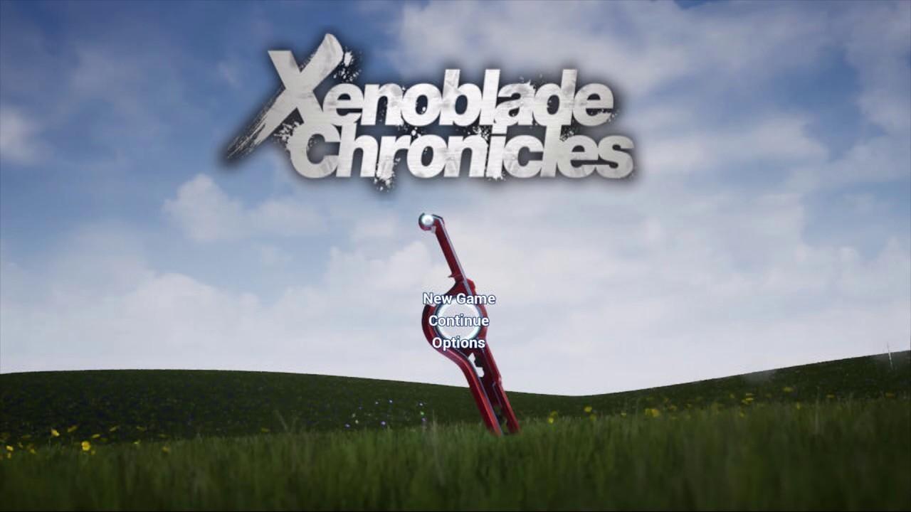 Xenoblade Chronicles: UI Menu Re-created