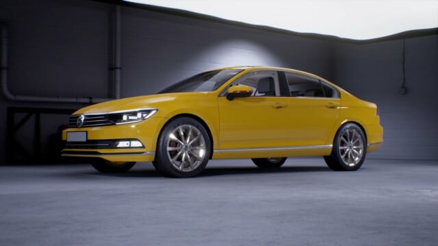 "VW Passat 2015 ""Unreal Render"""