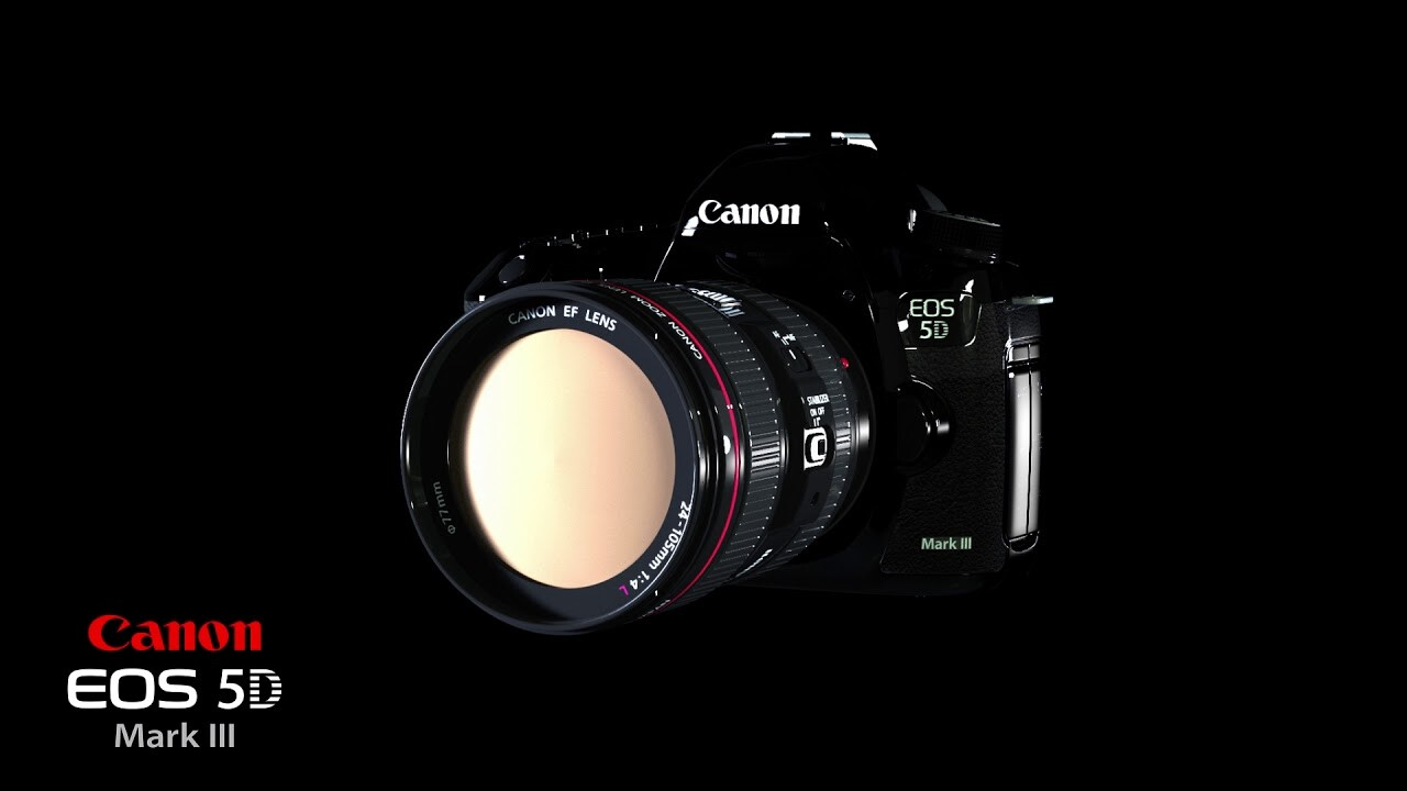5D mark III 3D animated manual