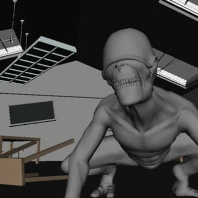 Creature 3D Animation