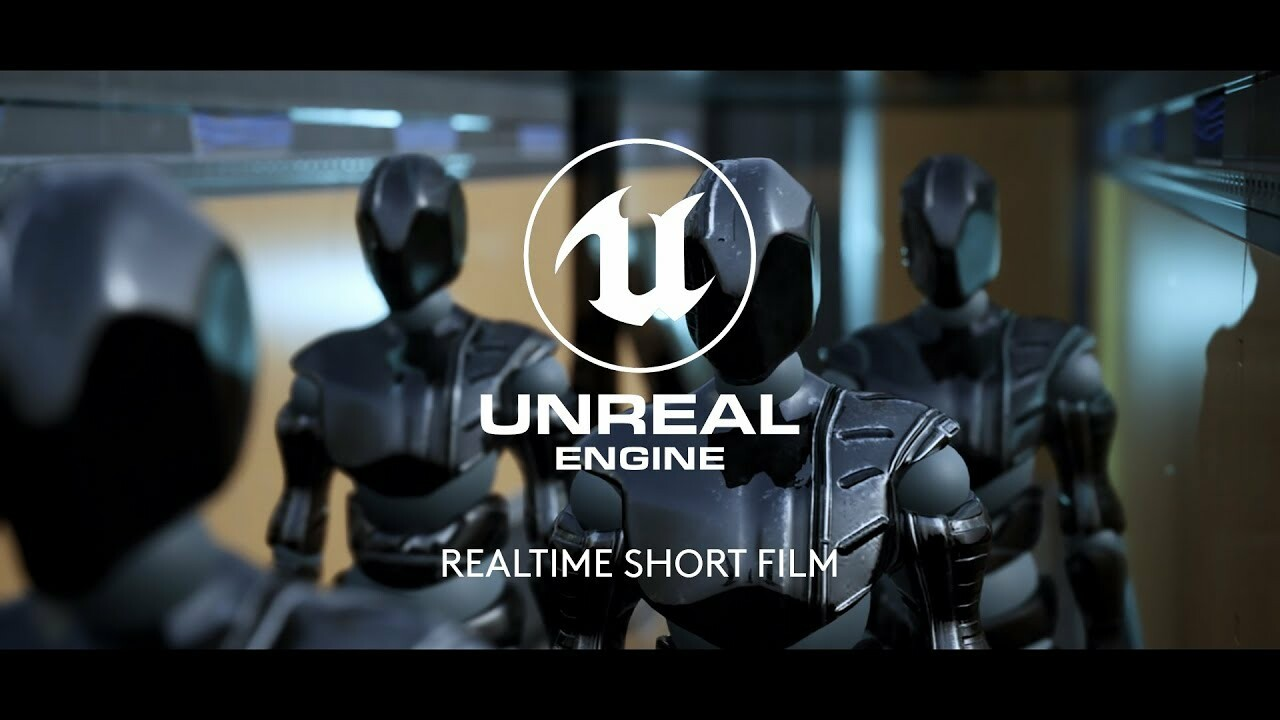 C-L33 ROBOT: Unreal Engine Realtime Short Film