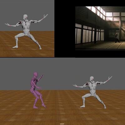 Morpheus and Neo Fight The Matrix