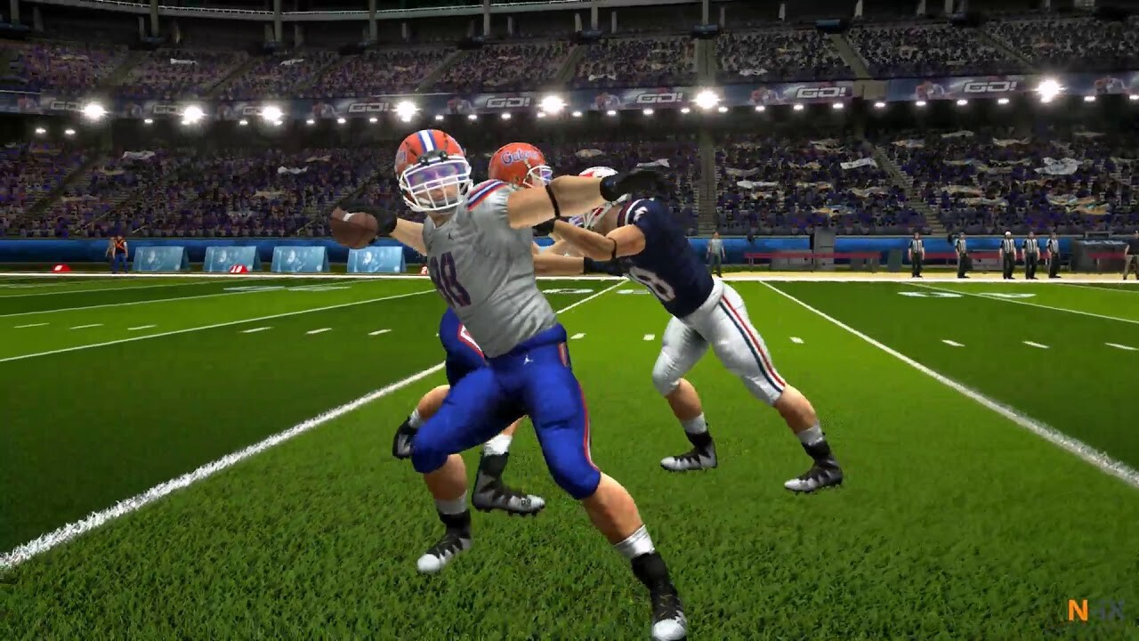 Quarterback Sports Training Simulation