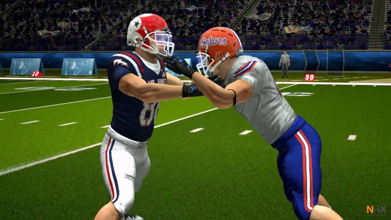 Football Linemen Simulation