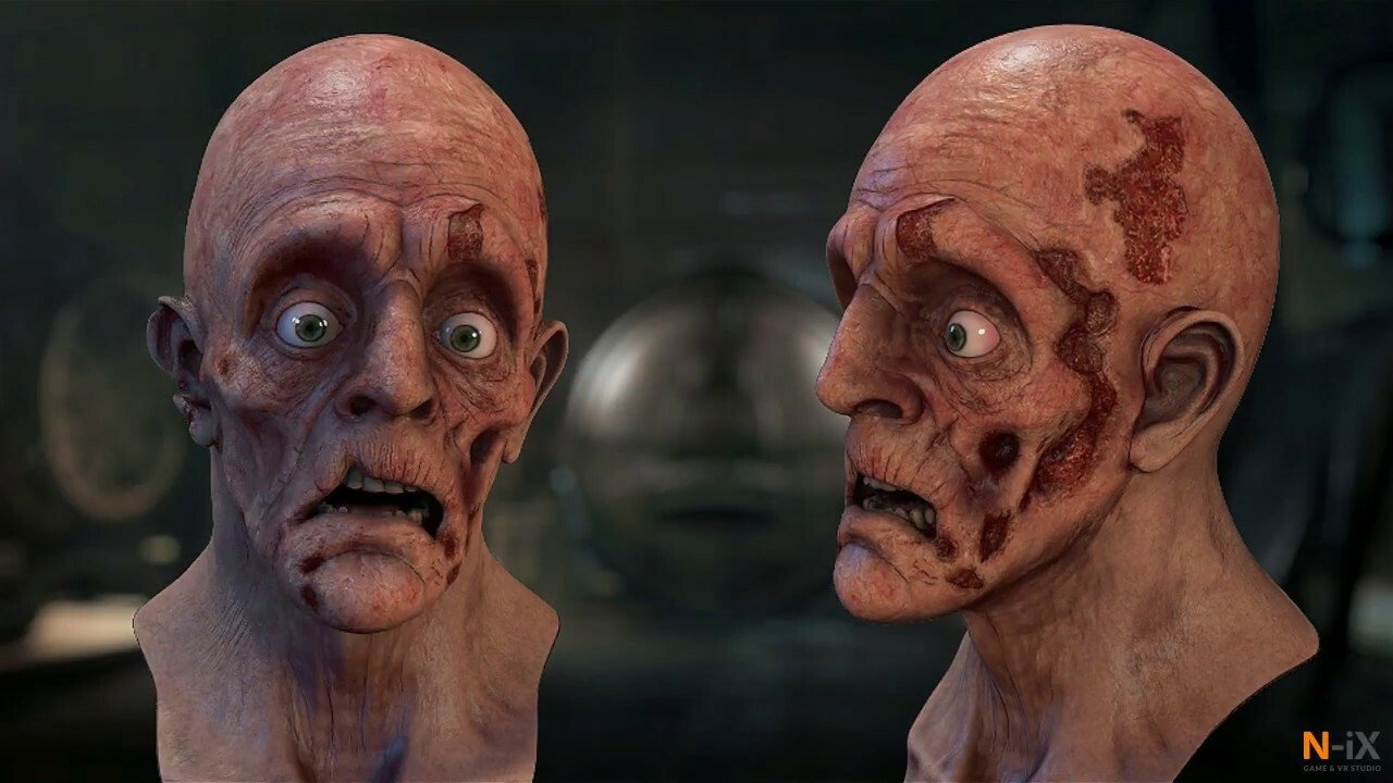 Face Animation. Technical video