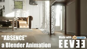 Absence - Real time animation - Blender & Eevee