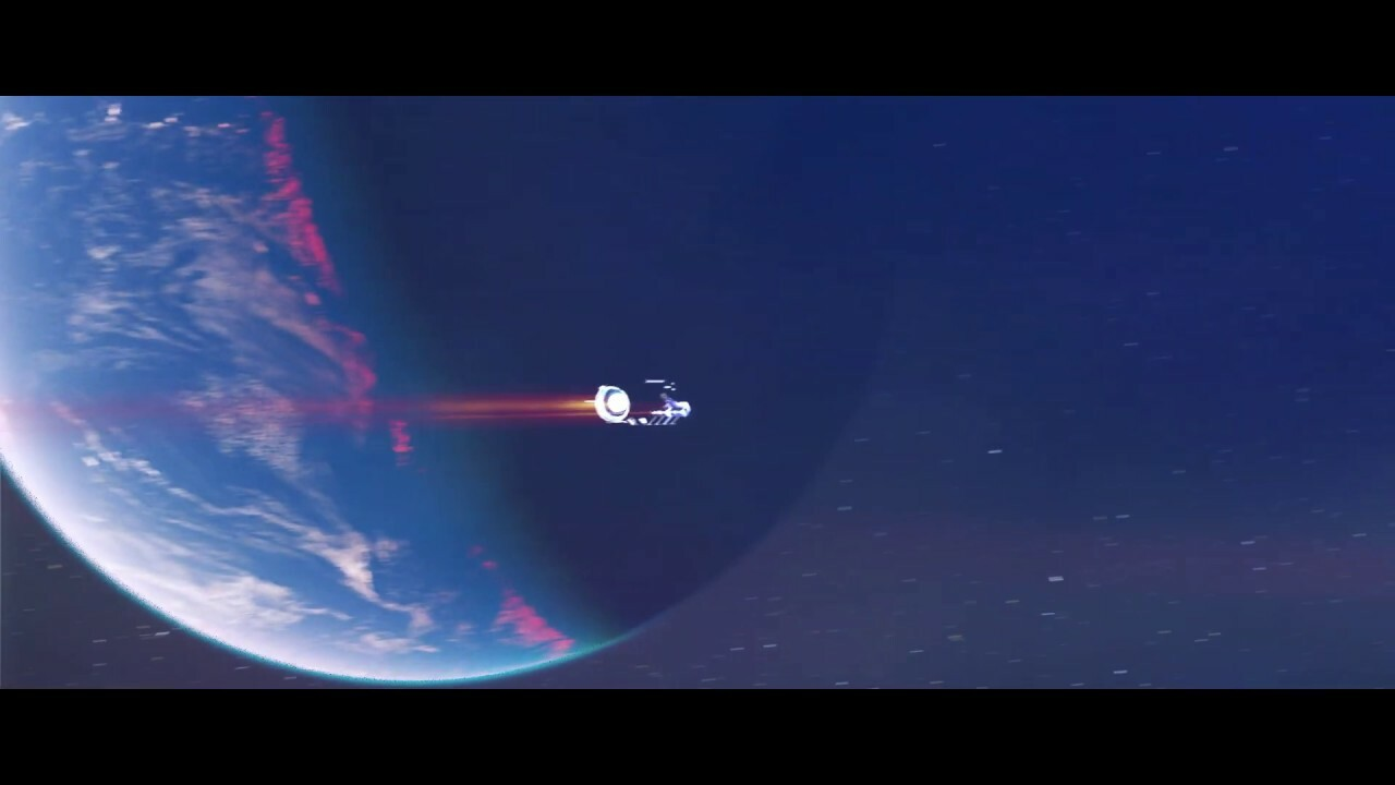 Space Fly-By