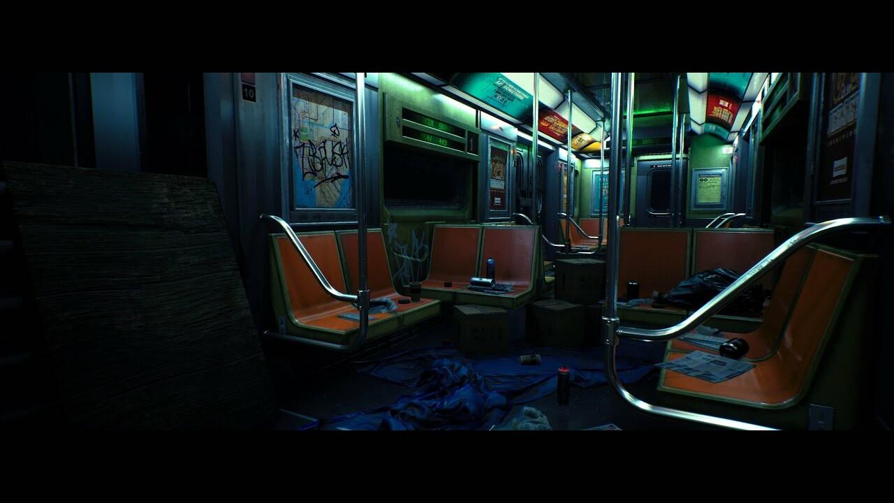New York Train Station 2049- Video