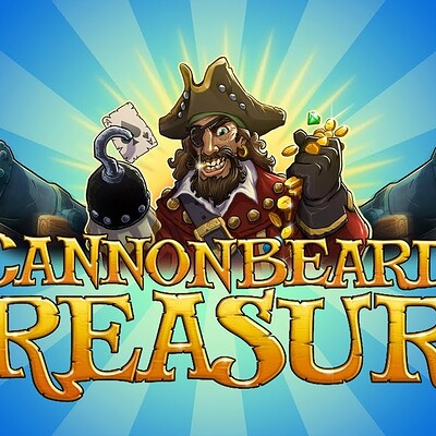 Gamblit's Cannonbeard's Treasure game play reel