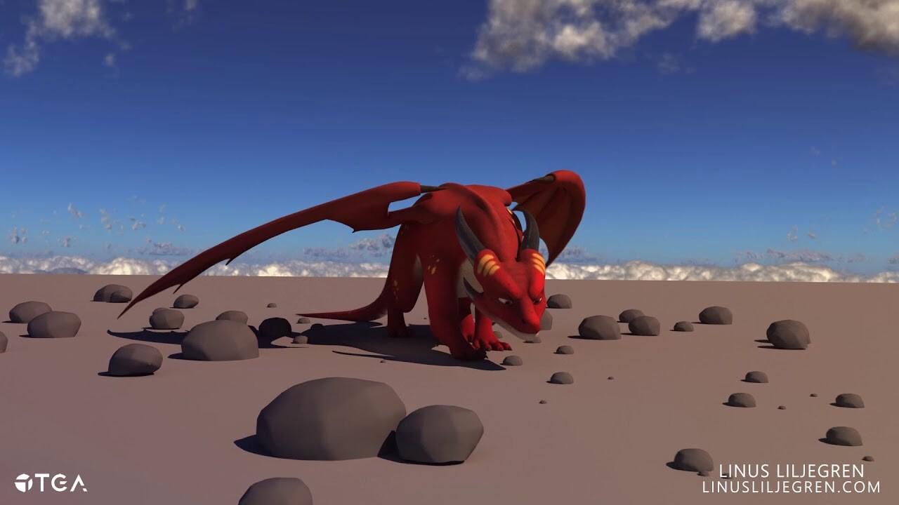 Animation | Dragon Walking
