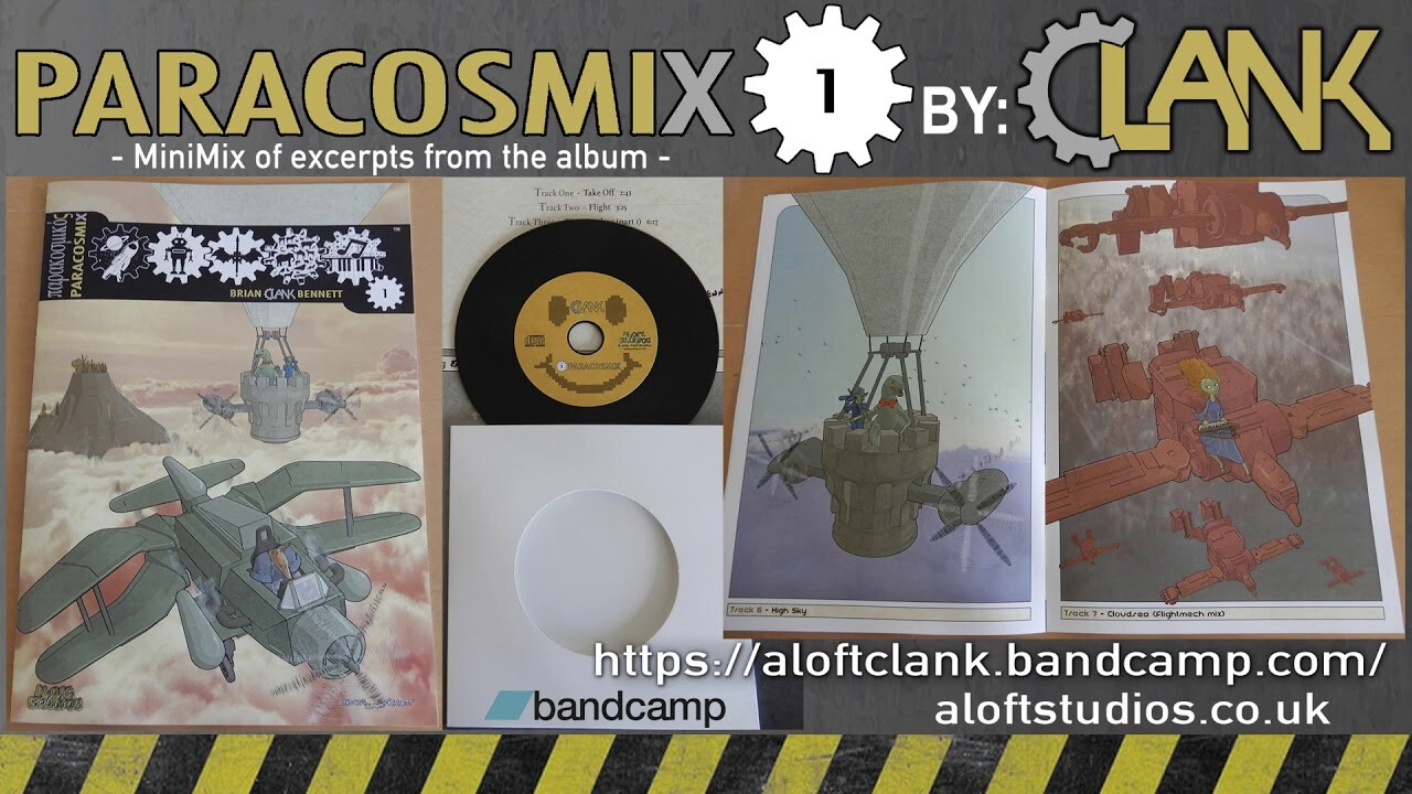Paracosmix 1 - Artbook & Music Album