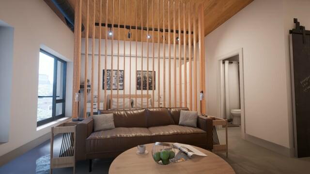 Arch Viz Apartment for ReInVR