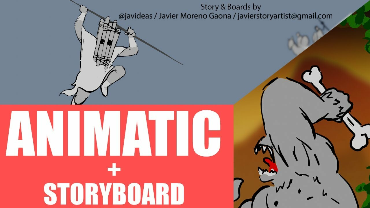Storyboard Test Odyssey (Animatic)