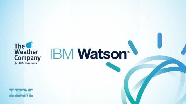 The Weather Company / IBM Watson Media Design Work