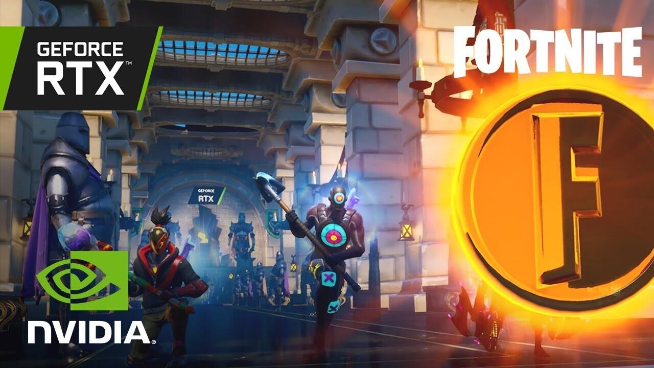 Fortnite RTX Treasure Run - Official NVIDIA Creative Map