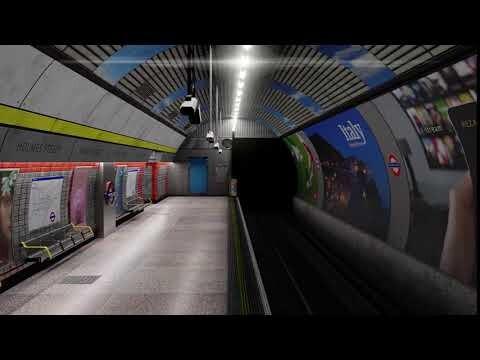 London Tube Inspired Game Environment