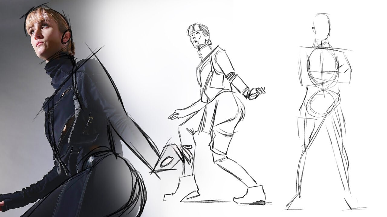 Resource - Timed Gesture Drawing: Spy