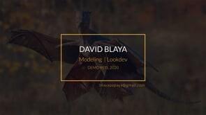 David Blaya | Demoreel 2020