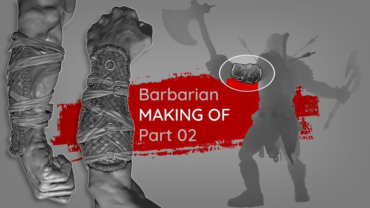 Frenzy Barbarian - Making of Part 02
