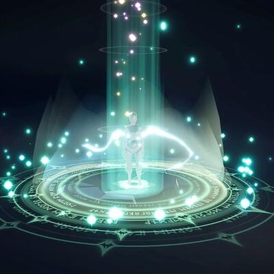 Lightning Portal VFX