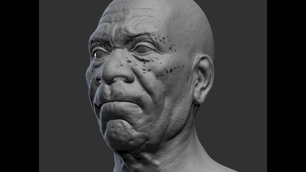 Morgan Freeman - Blend Shapes