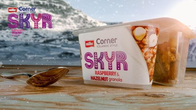 MÜLLER | CORNER SKYR - Compositing and VFX