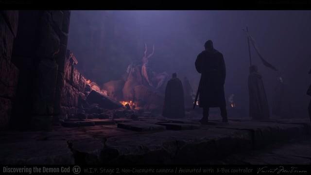 Summoning the Demon God (Unreal Version)